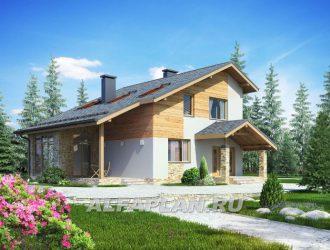 Проект дома G54