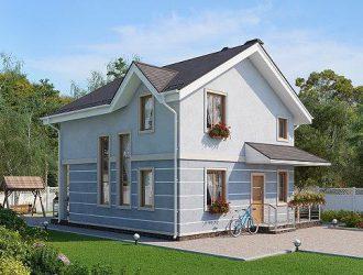 Проект дома Кобленц - фото фасадов, планировка и стоимость строительства