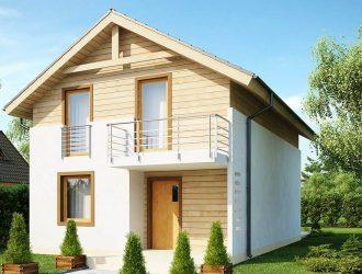 Проект дома Z38 - готовые проекты домов в Екатеринбурге