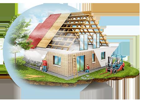 Проект дачного дома 5 х 5 м с мансардой